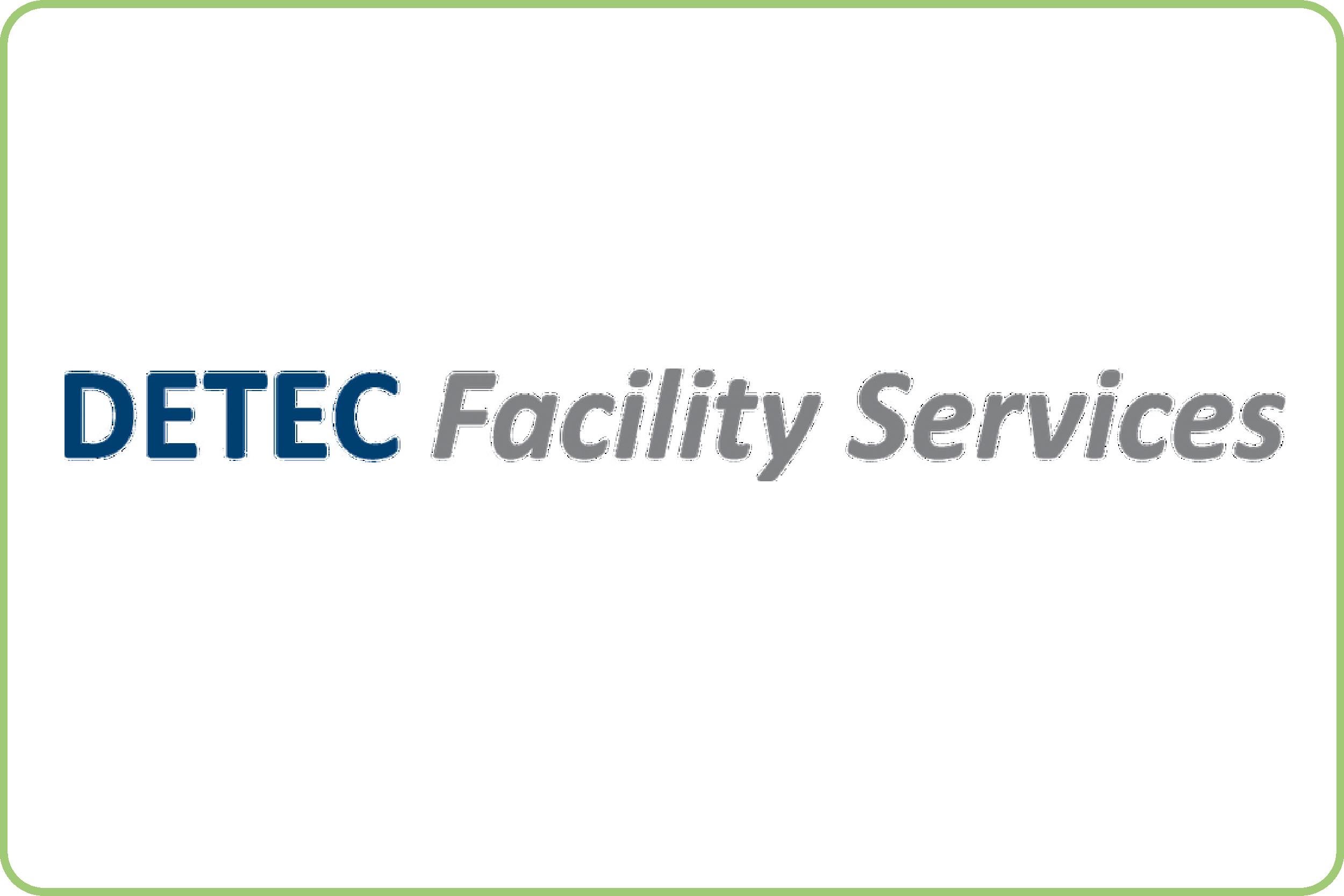 DETEC Facility Services